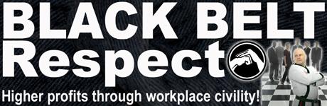 Black Belt Respect Banner 460w