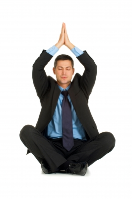business man meditation yoga FREEDIGITALPHOTOS dot NET Ambro