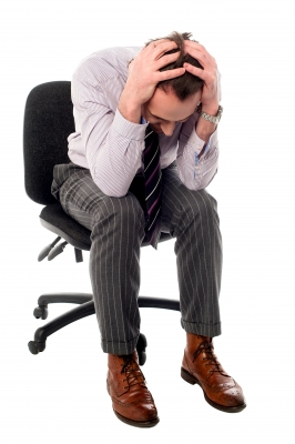 Business Man Depressed StockImages
