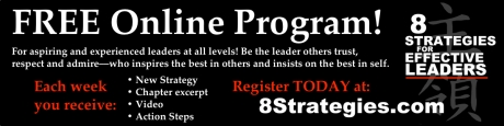 8 Strategies Online Program Horizontal Banner